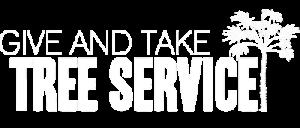 giveandtaketreeservice-headerlogo-White-400x
