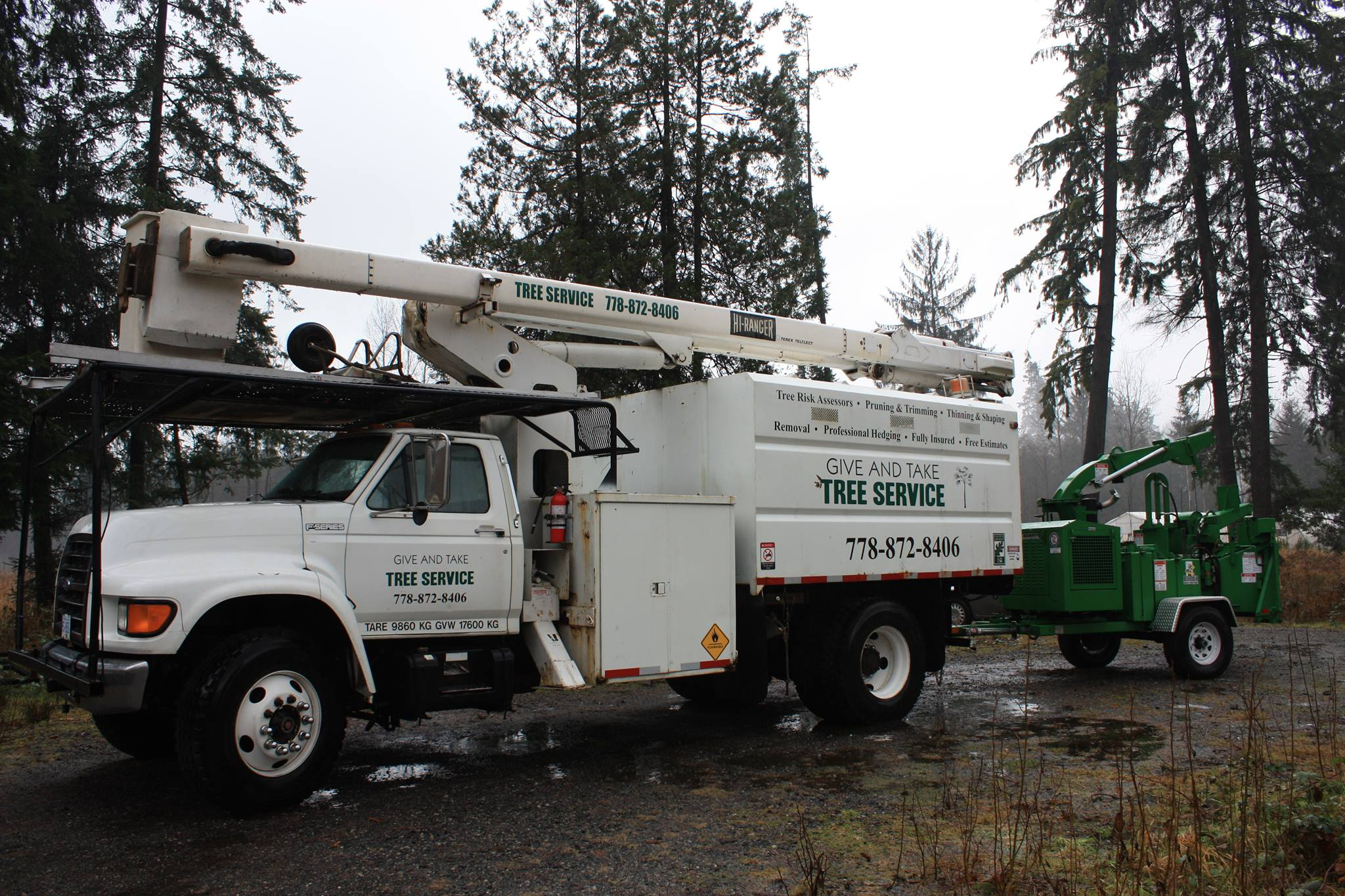 giveandtaketreeservice-truck